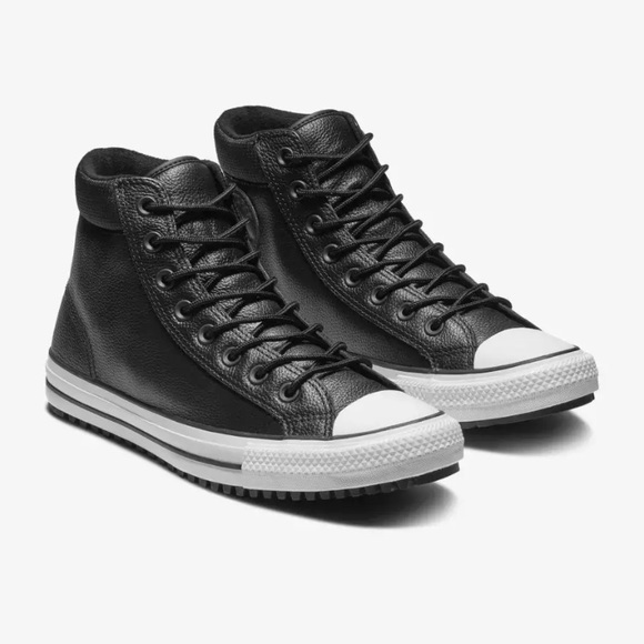 ec6a3e9a68055 Converse Chuck Taylor Leather HI Top Boot 162415C NWT